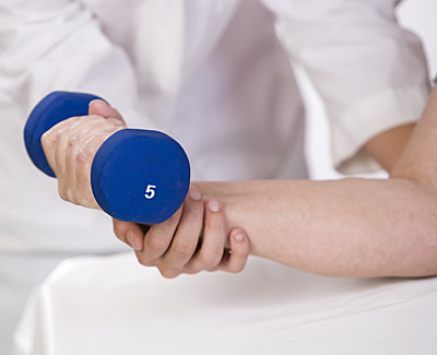 Physical Therapy of the Arm With Weight